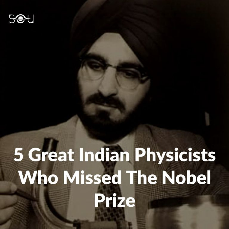5 Great Physicists Who Missed the Nobel Prize
