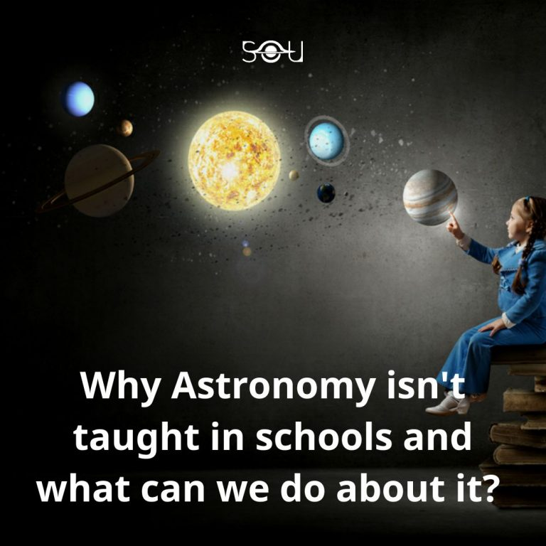 Why astronomy isn't taught in schools