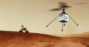 Mars 2020 and Helicopter