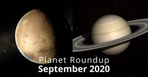 Planets in September 2020